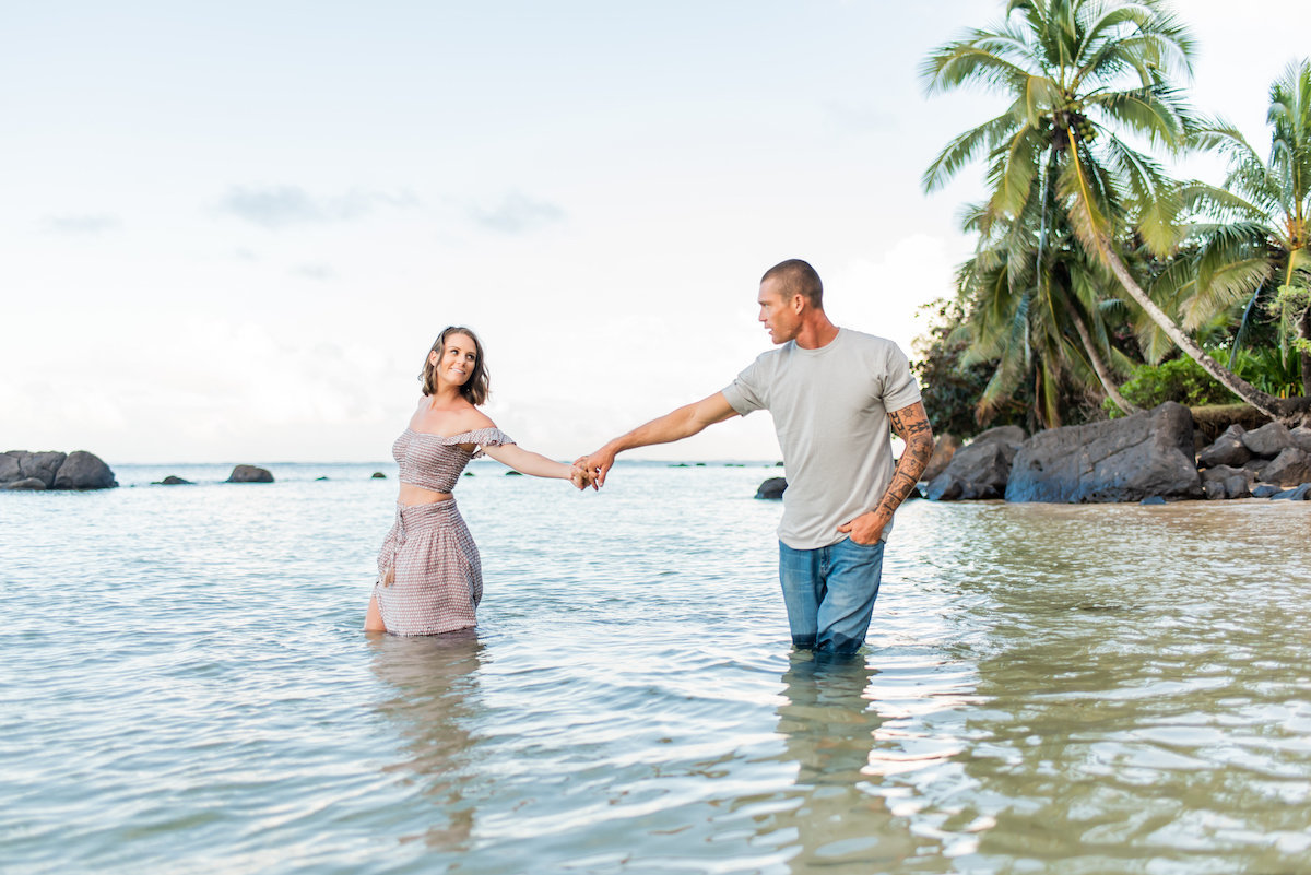 Couples holiday photographers Kauai
