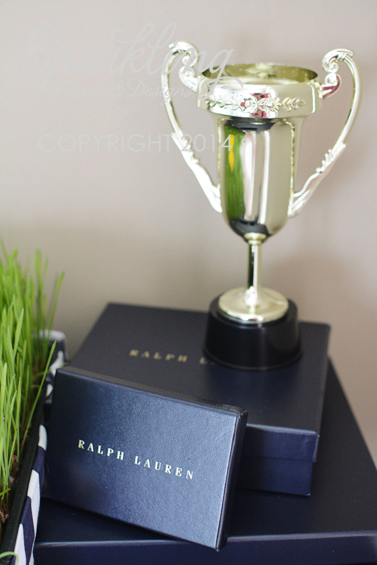 Sparkling Events Designs - Polo Club Party Trophy