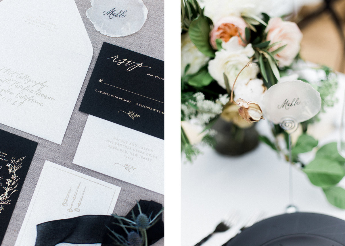 Sunset Cliffs Invitations and Florist