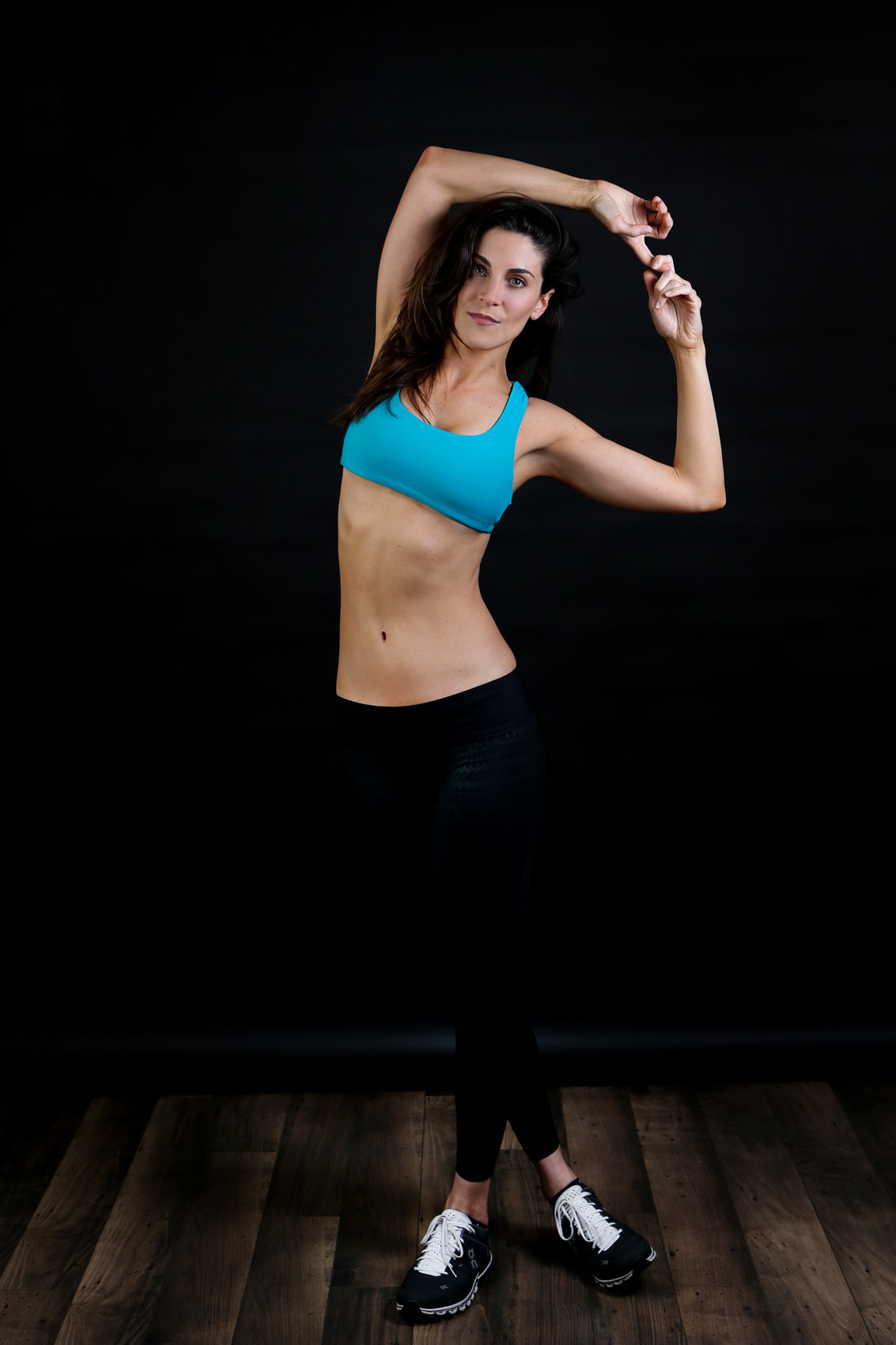 In Studio Fitness Model Photography Photoshoot