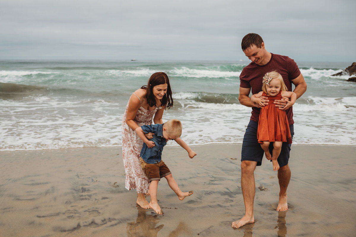 San Diego Family Beach Photography