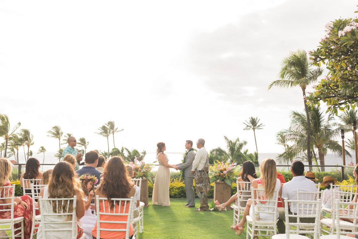 maui vow renewal in Wailea, Hawaii