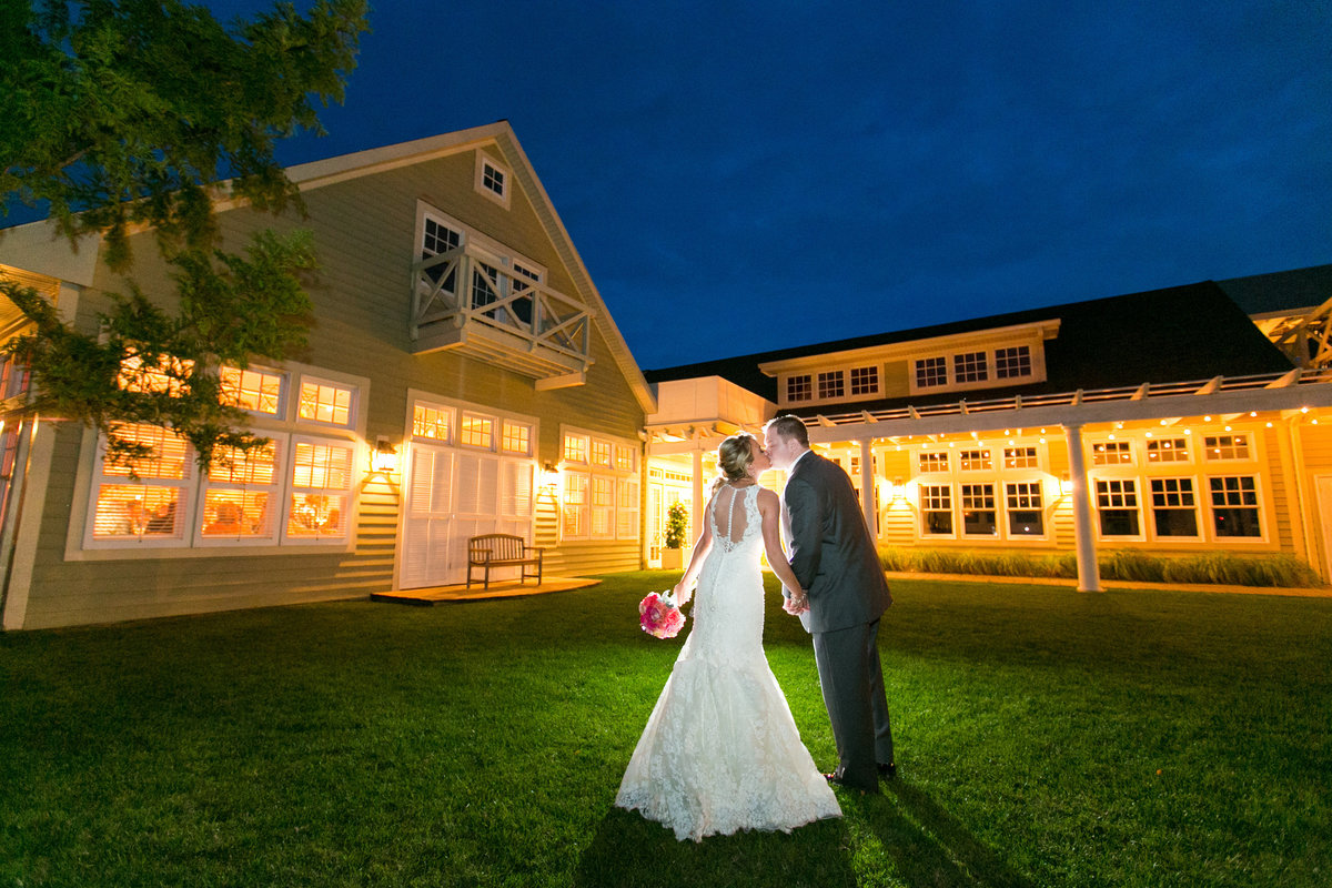 Dusk at Chesapeake Bay Beach Club Wedding