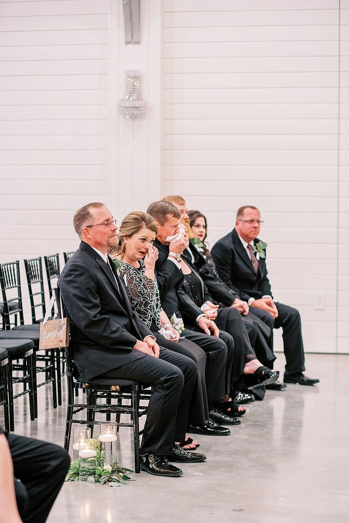 Ceremony in the Chapel at The Annex photographed by Alicia Yarrish Photography