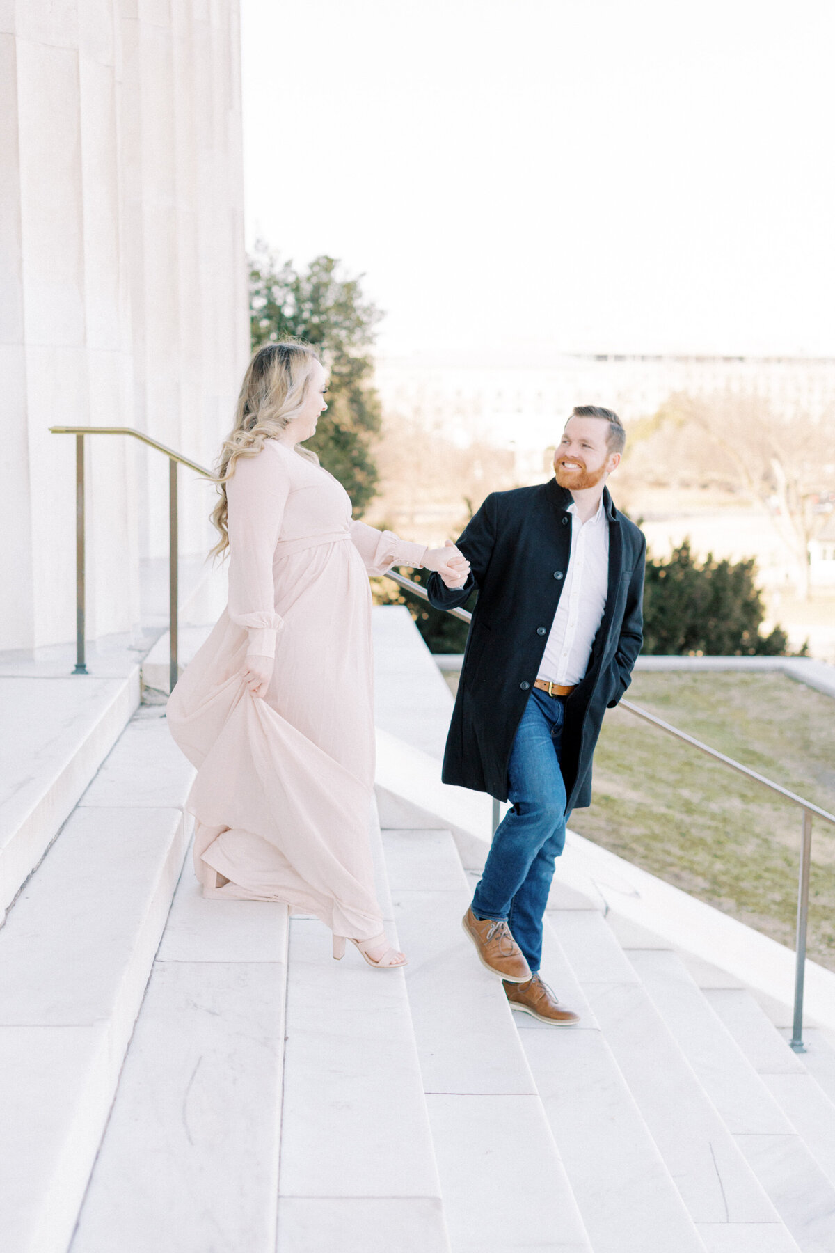 Lauren + Marshall _ Maternity _ Washington, DC Session _ LB Photography-30