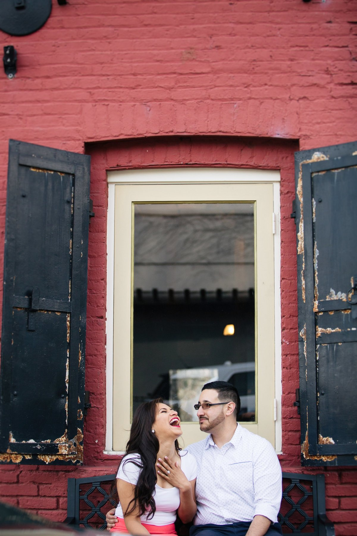 Nevada City engagement photos