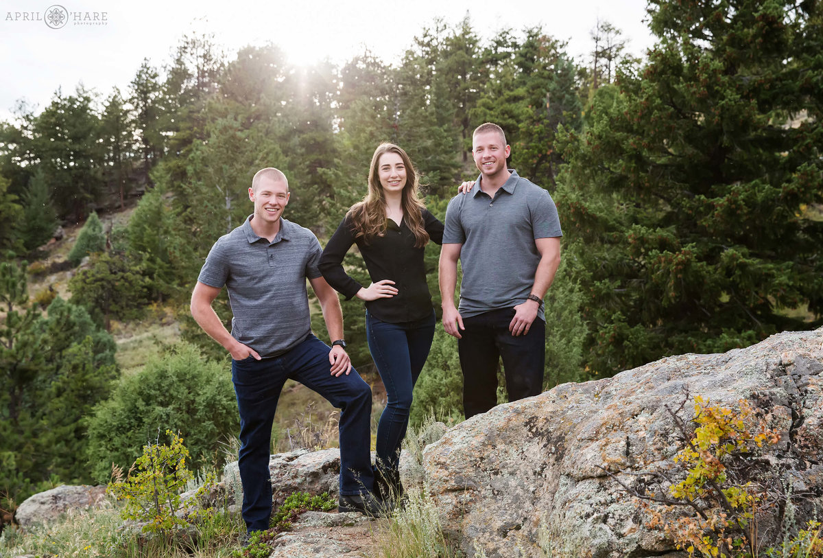 Boulder Family Photography at Gross Reservoir in Colorado