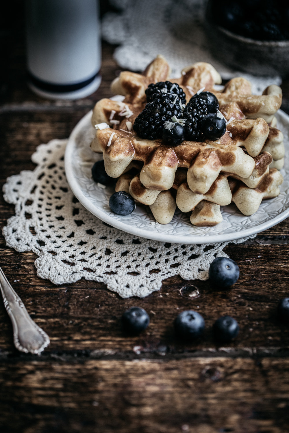Vanilla Bean Buttermilk Waffles  | Anisa Sabet | The Macadames | Food Styling | Food Photography161