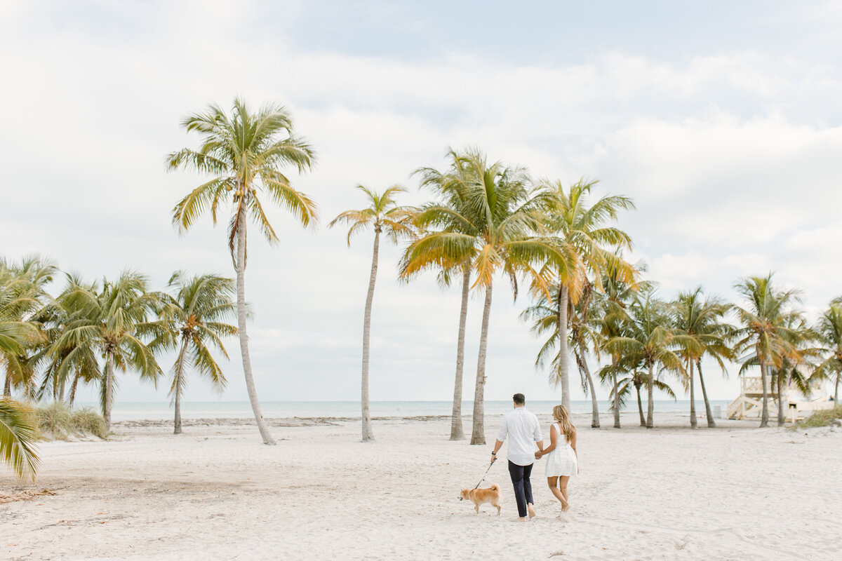 Crandon Beach Engagement Photography Session 6