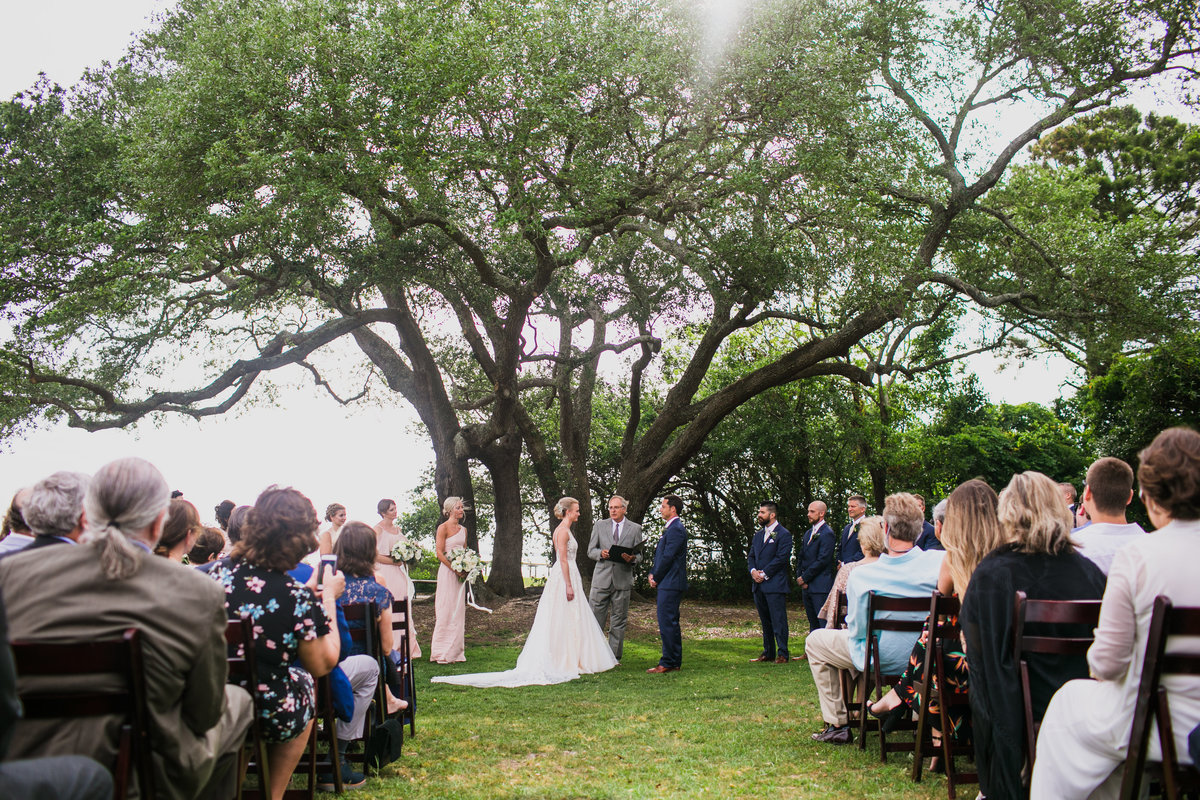 southern wedding in charleston