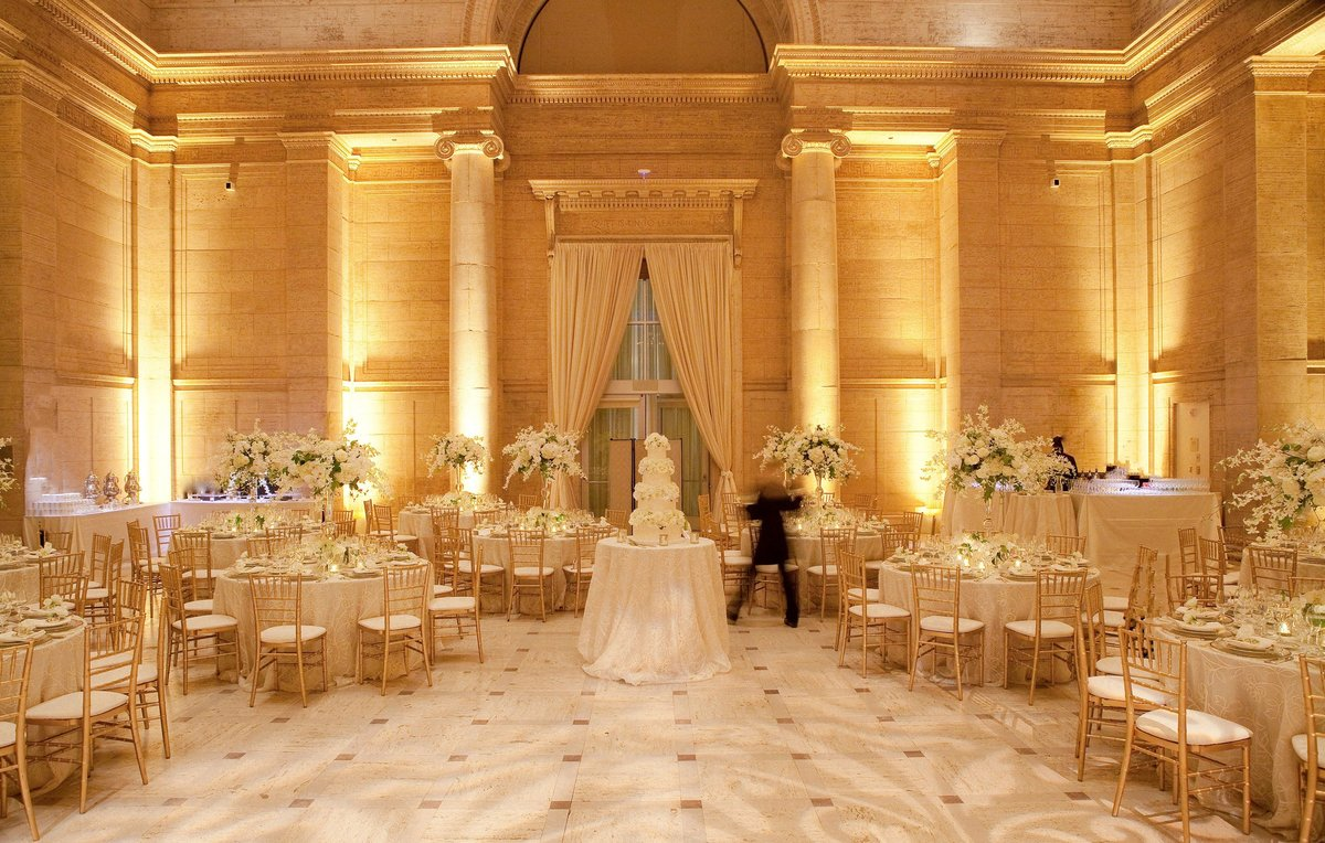 Wedding by Jenny Schneider Events at the Asian Art Museum in San Francisco, California. Photo by Lori Paladino Photography.