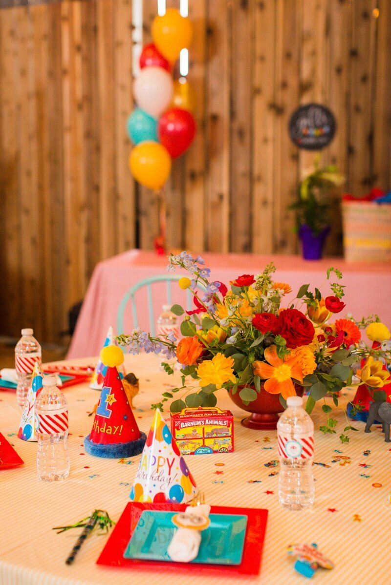 Circus Themed 1st Birthday Indianapolis Party Planner_0089