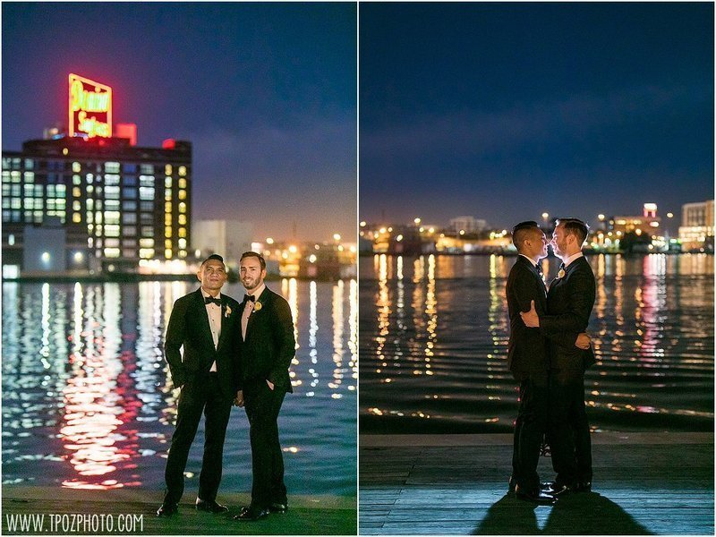 Gay wedding in Baltimore