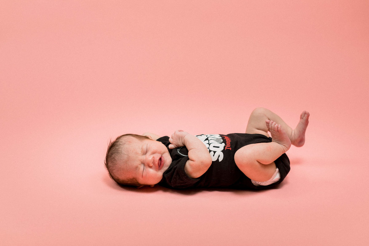 Star Wars Newborn Photos Orange Conty_