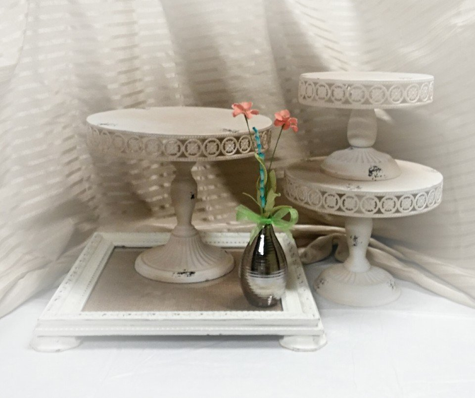 Shabby Chic Plateaus