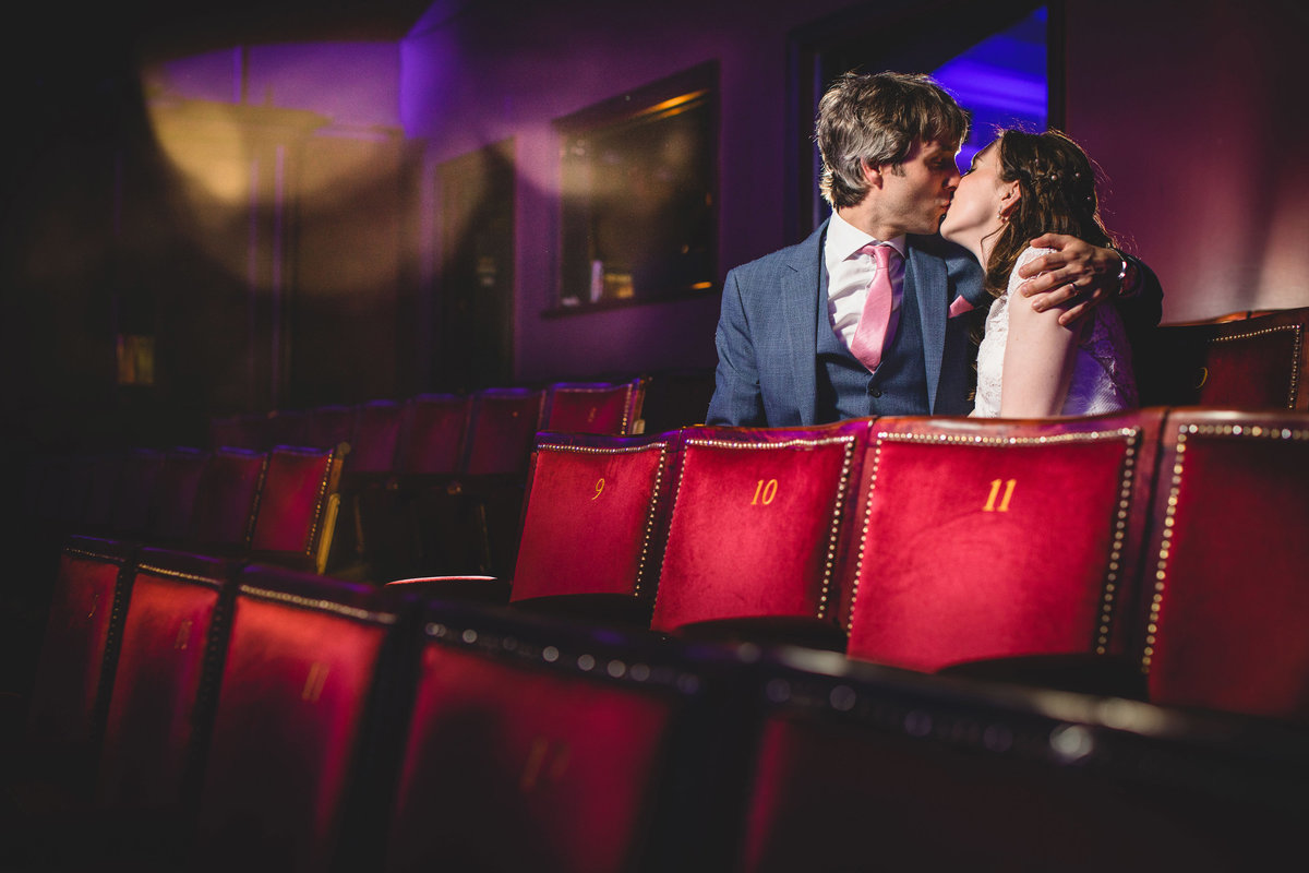 theatre wedding photo