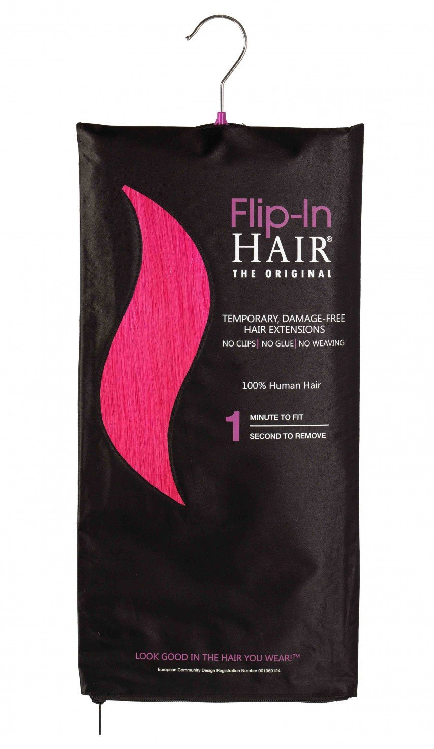 Flip-In Hair Original Pink