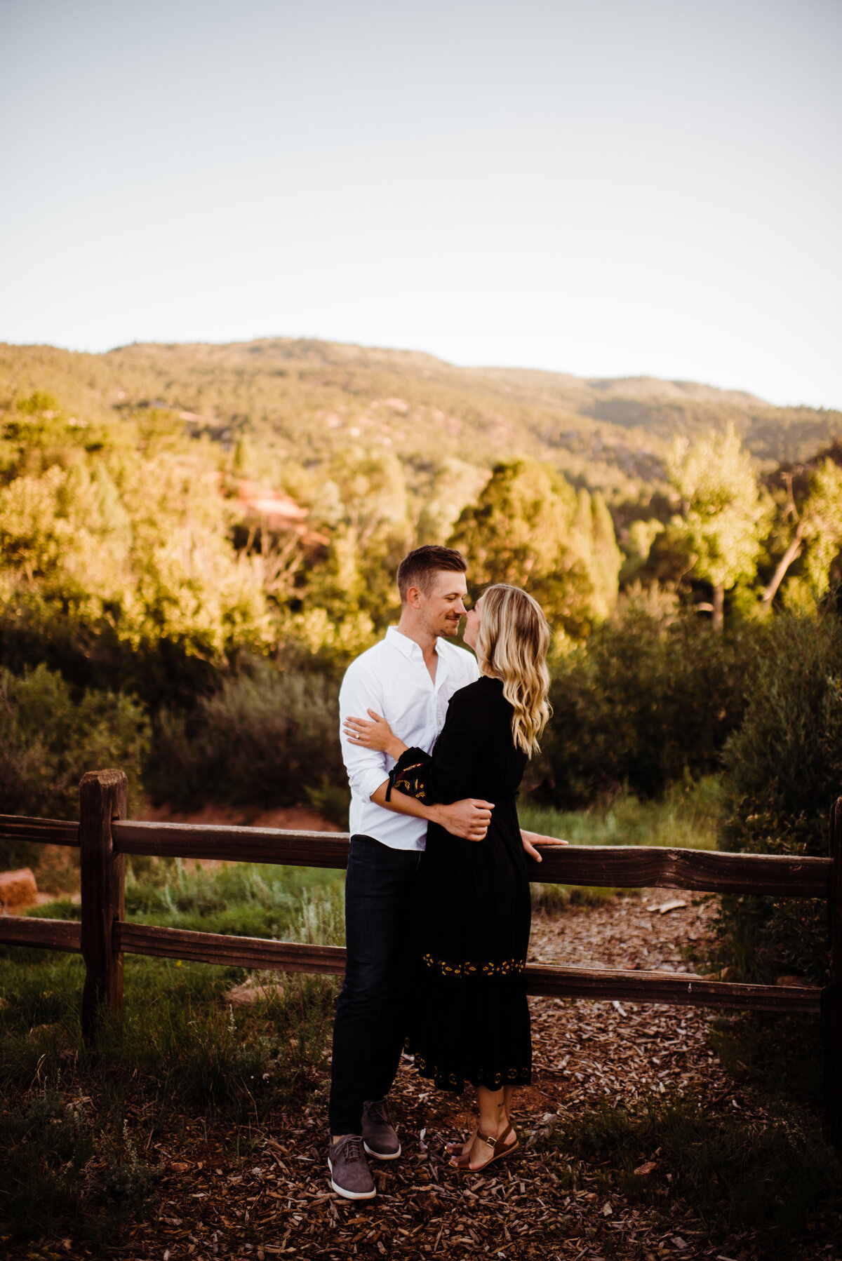 Sunrise engagement session at Garden of the Gods - Randy and Ashley Studios - Ben and Rachel-115