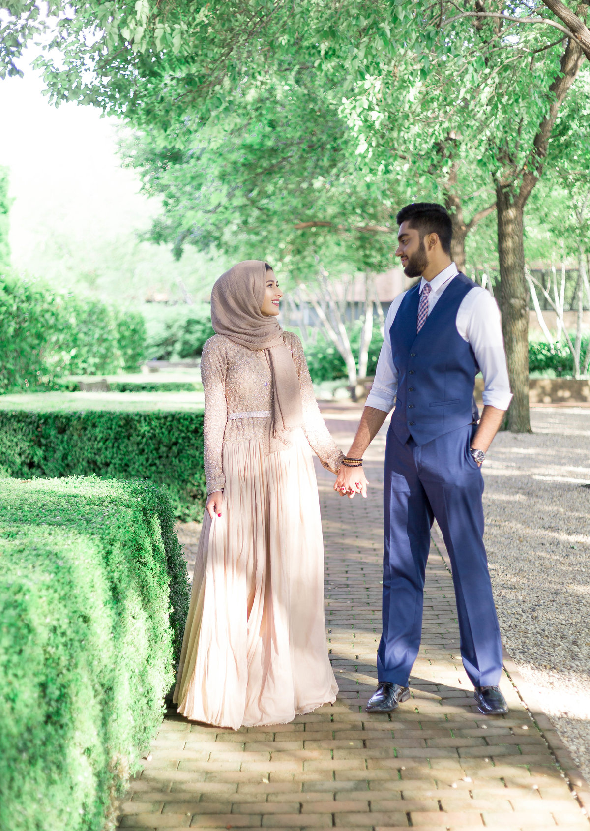 Humna & Fahad Chicago Botanic Engagement -2