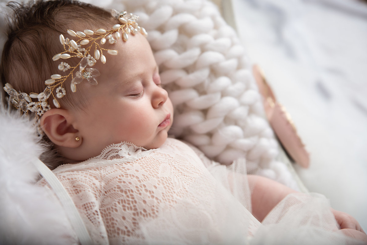 angel baby photoshoot