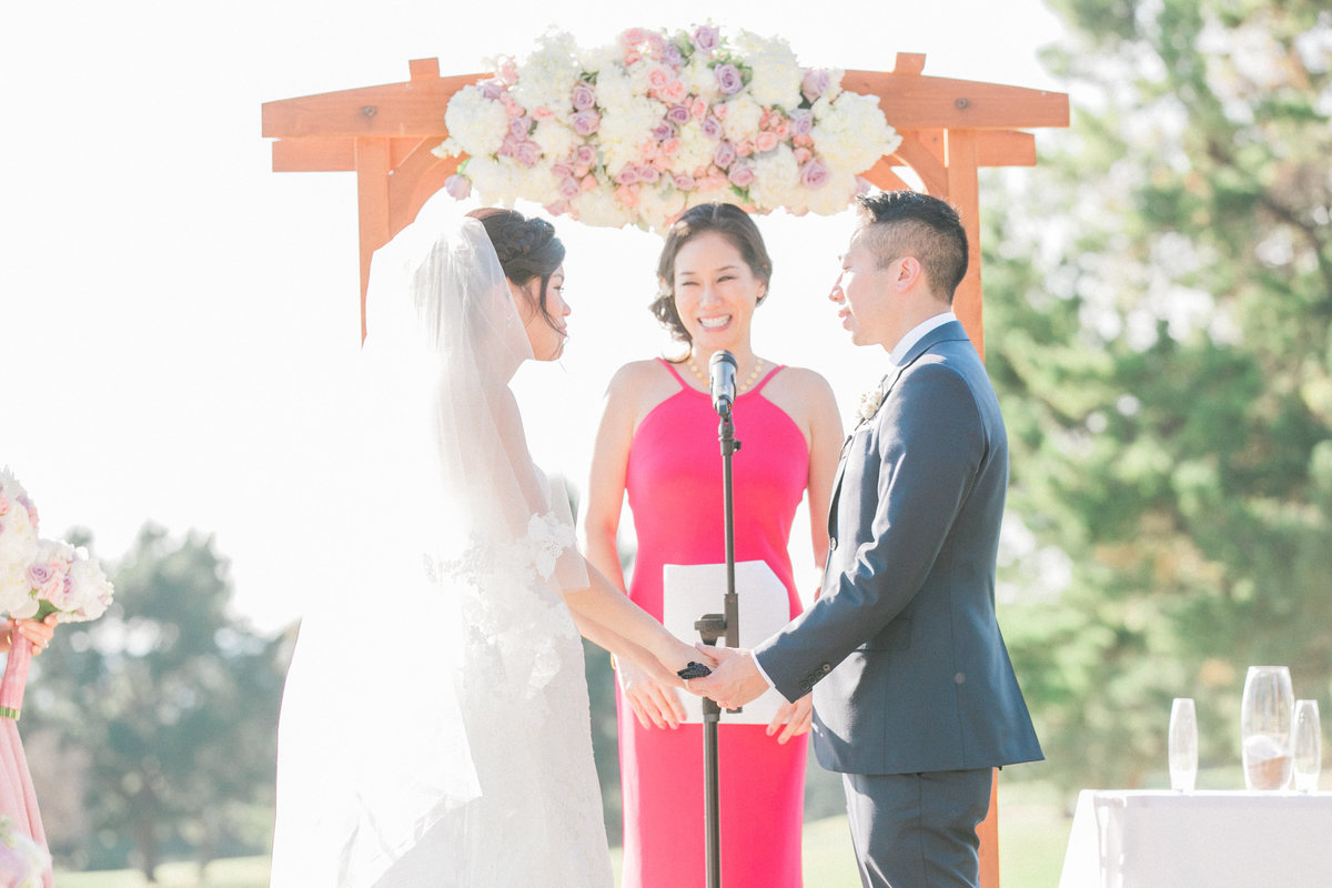 Bay Area Outdoor Wedding
