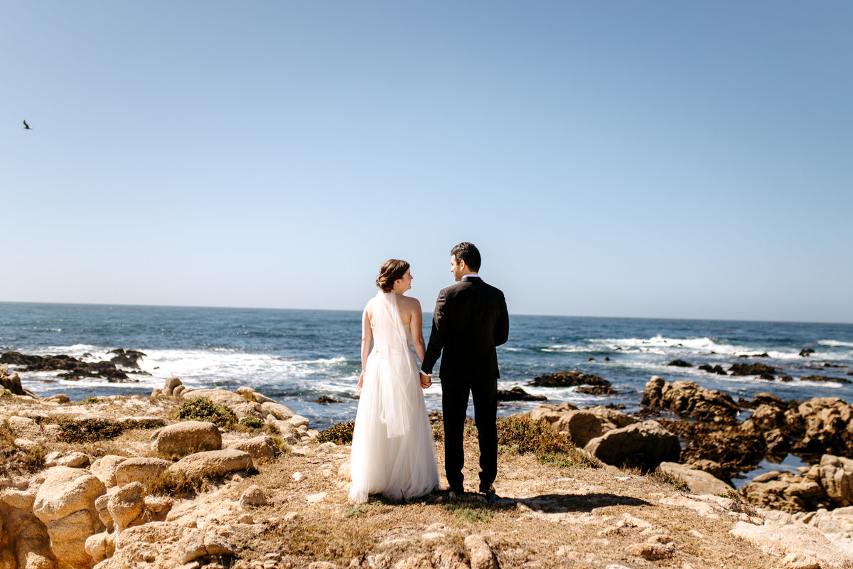 Contact info for professional destination wedding videographers based out of Monterey, CA.