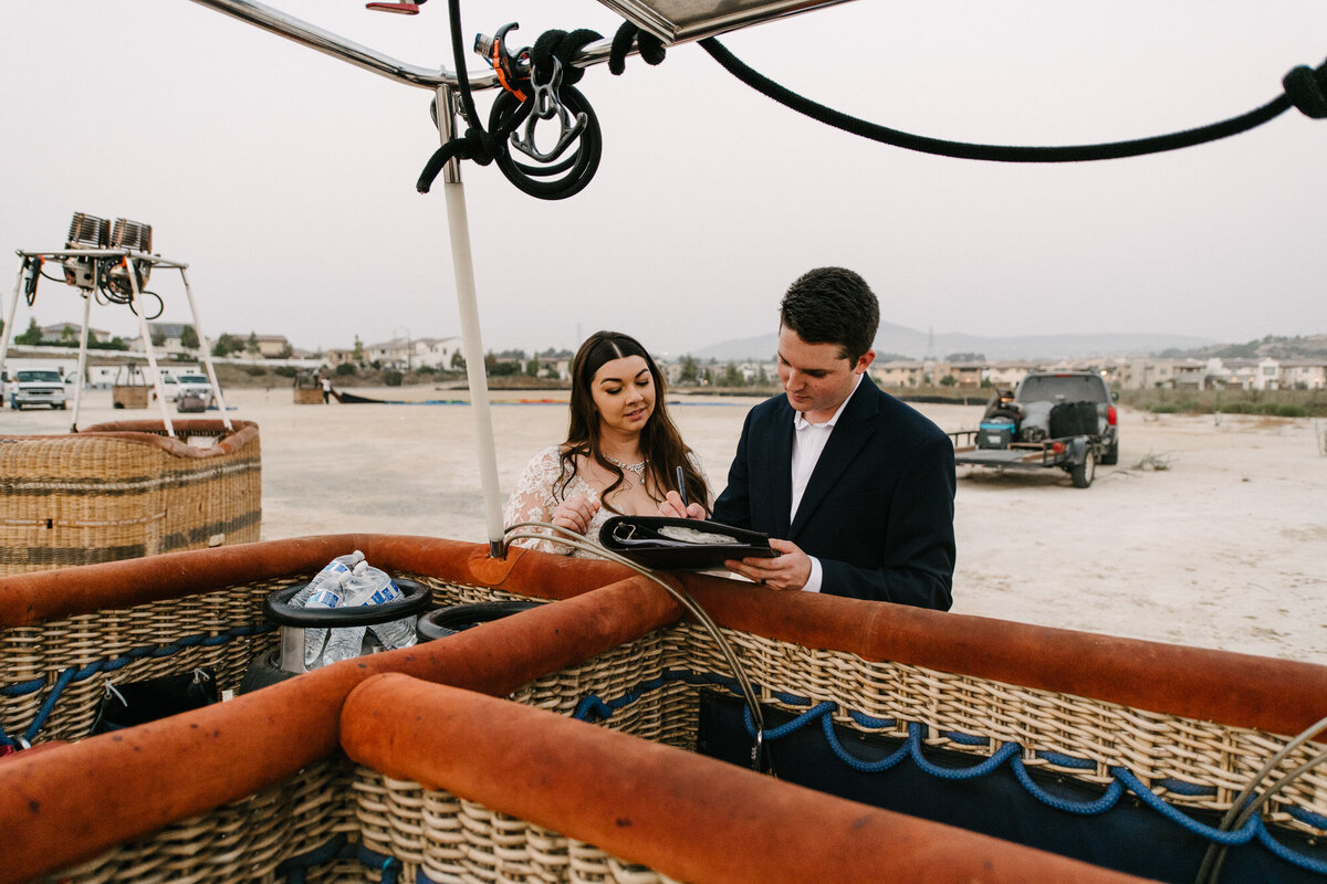 Hot Air Balloon Elopement Marie Monforte Photography-220