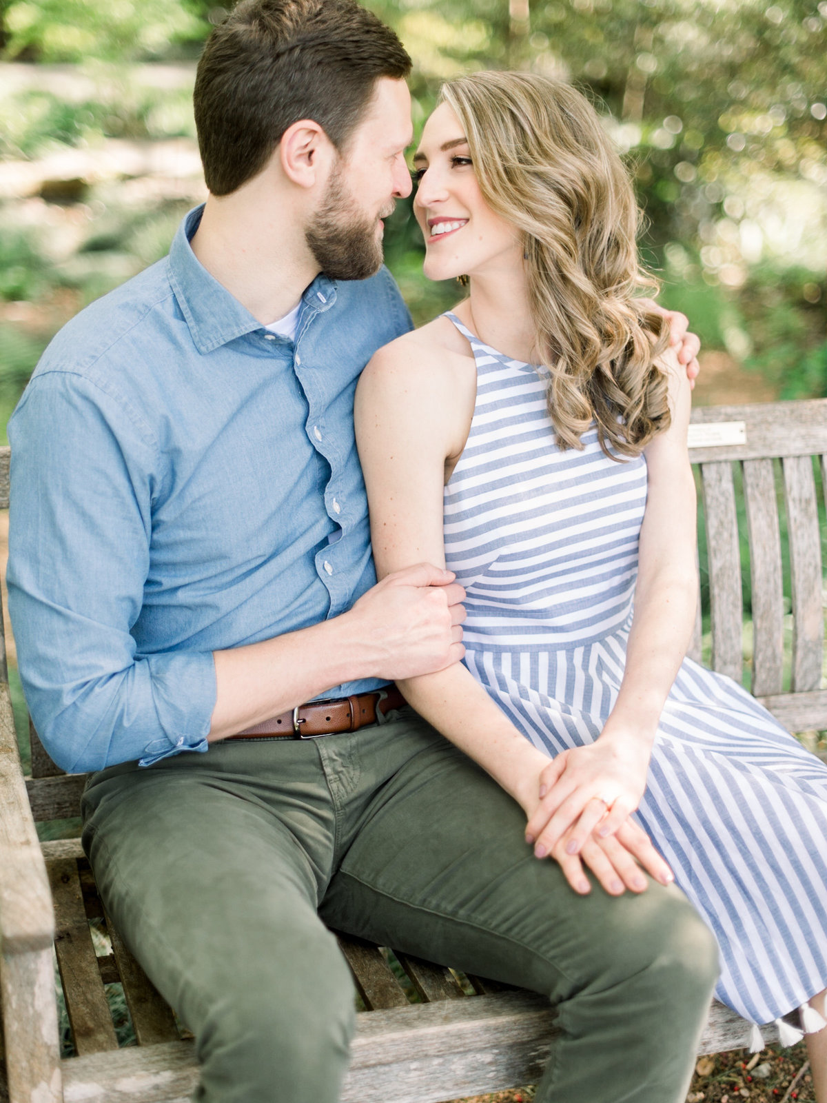 Courtney Hanson Photography - Dallas Spring Engagement Photos at Dallas Arboretum-2633