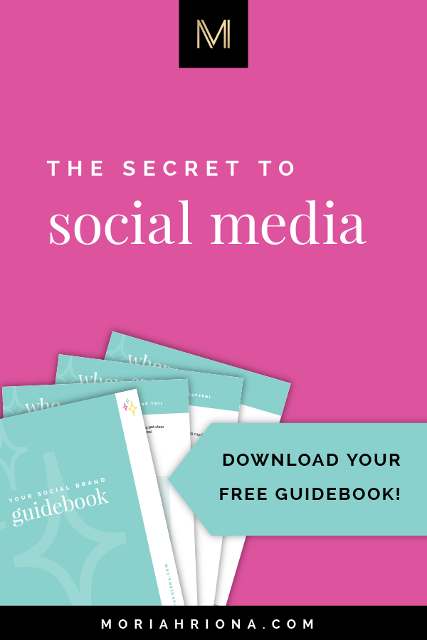 Social Media Marketing: Free Workbook Download | Wondering how to build a flawless social media strategy for your small business? Look no further, friend! Click through to download Your Social Brand Guidebook—my FREE workbook to get your social media marketing on track! Perfect for content marketing, facebook marketing, instagram tips, and more! #socialmedia #instagram #facebook #marketing