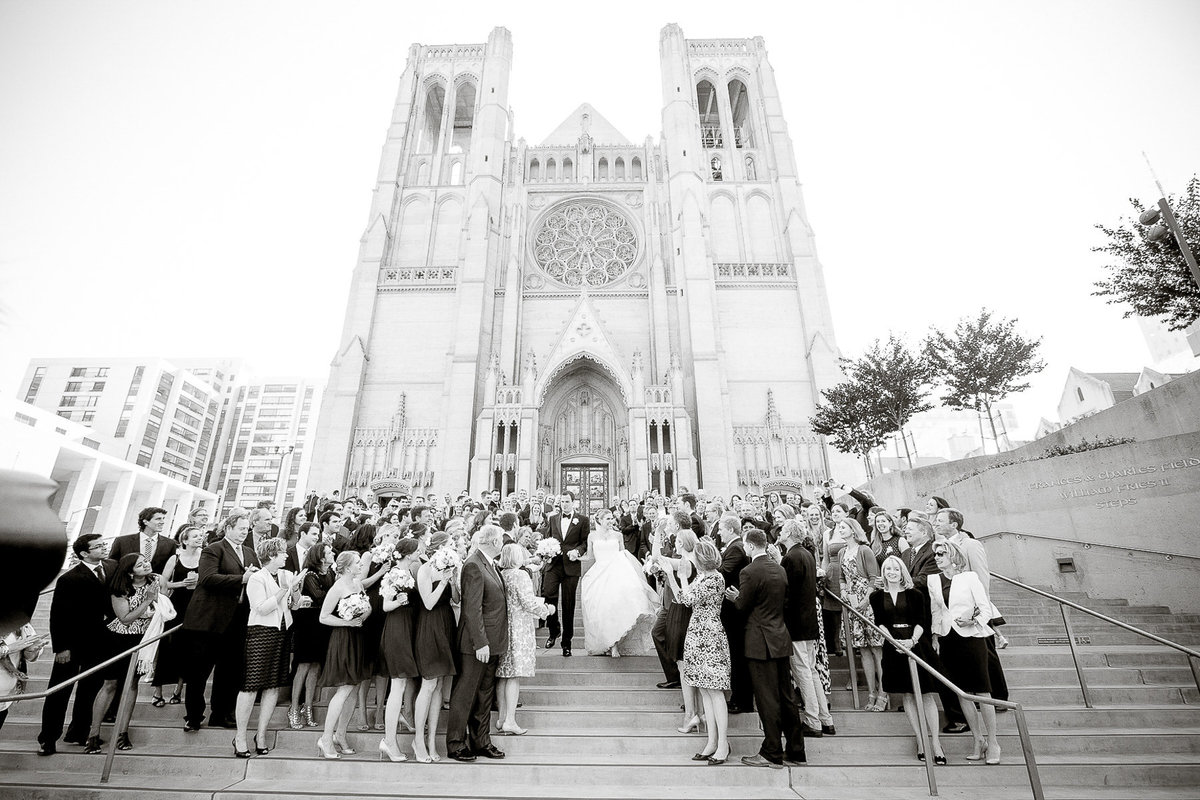 Grace Cathedral wedding in San Francisco