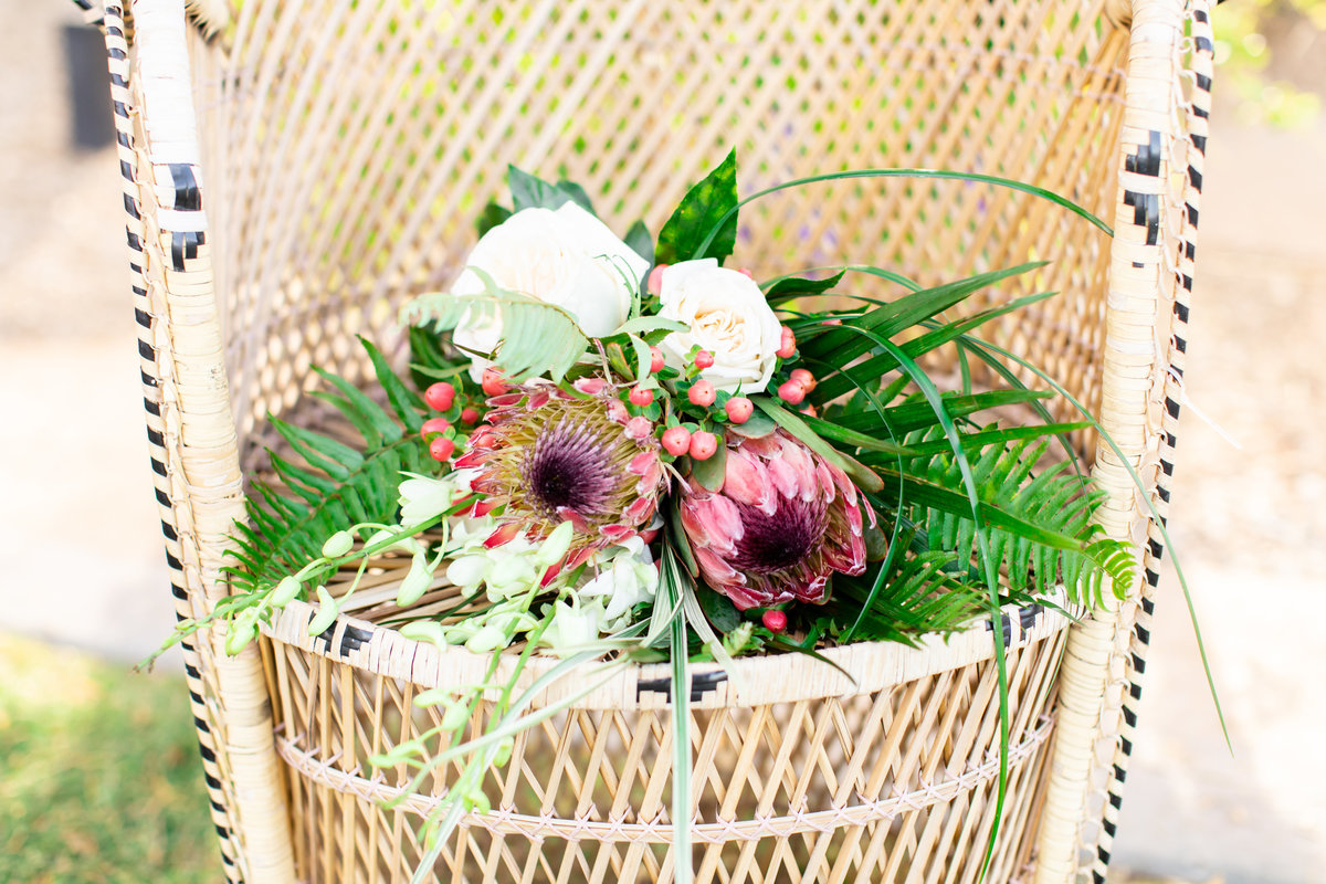 Encanterra Arizona Wedding Tropical Theme-5