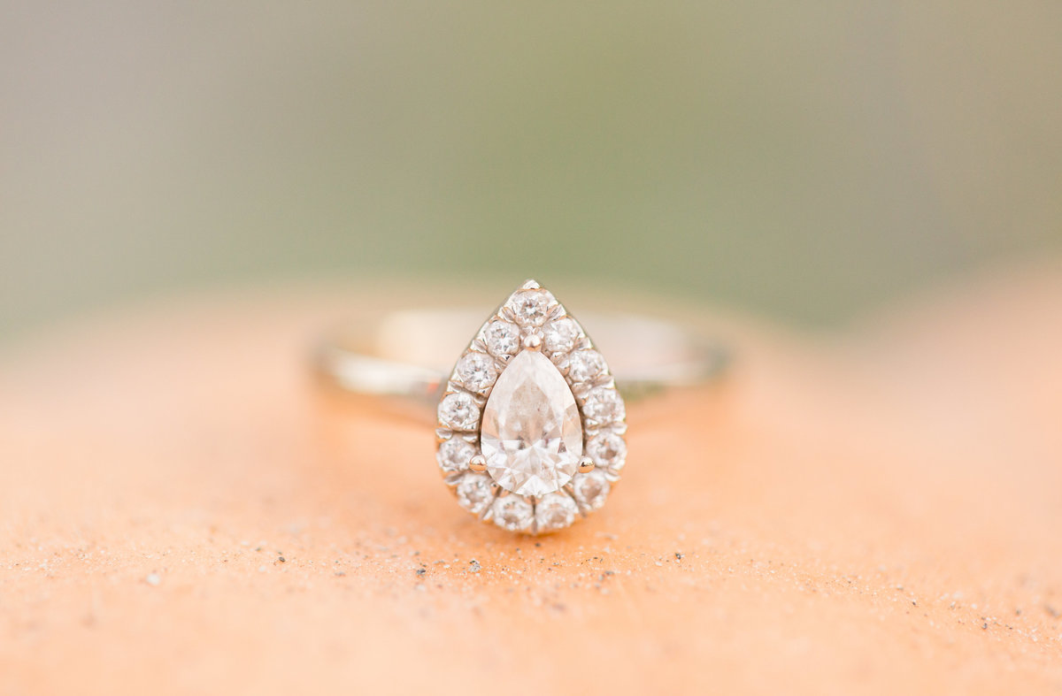 Engagement ring by Marie Hamilton Photography