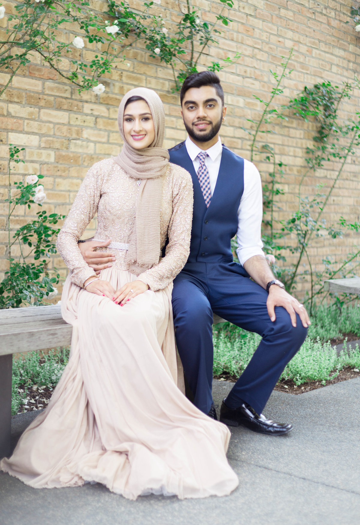 Humna & Fahad Chicago Botanic Engagement -4