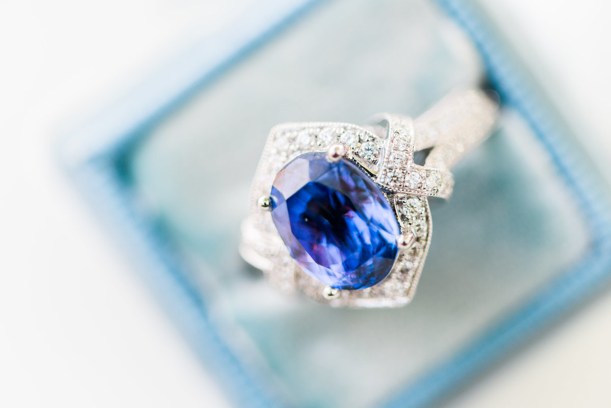 Stunning Engagement Ring from Elegant DC Wedding