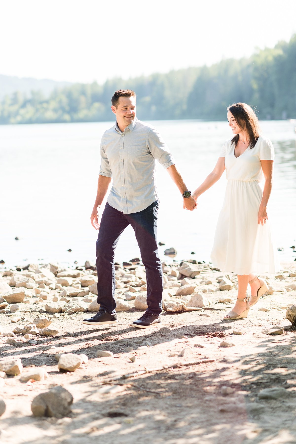 Rattlesnake Lake Engagement Session - 21
