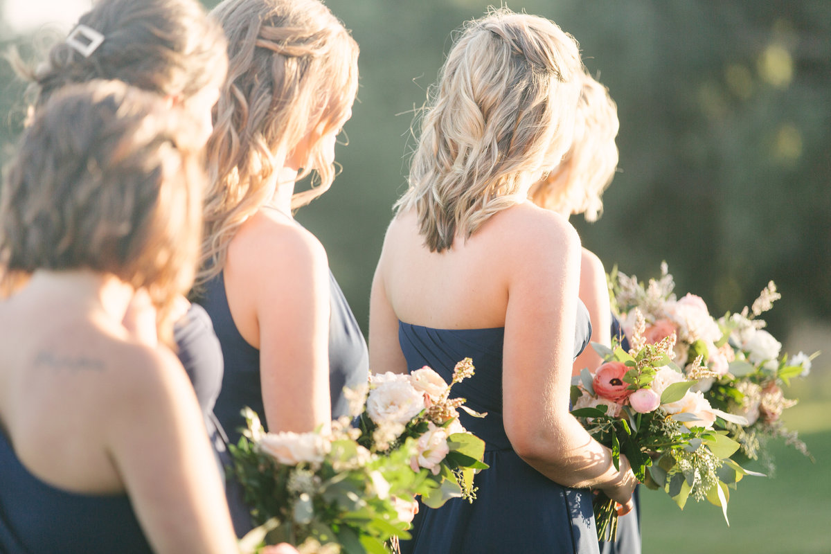 Bridesmaids at Firestone Vineyard wedding