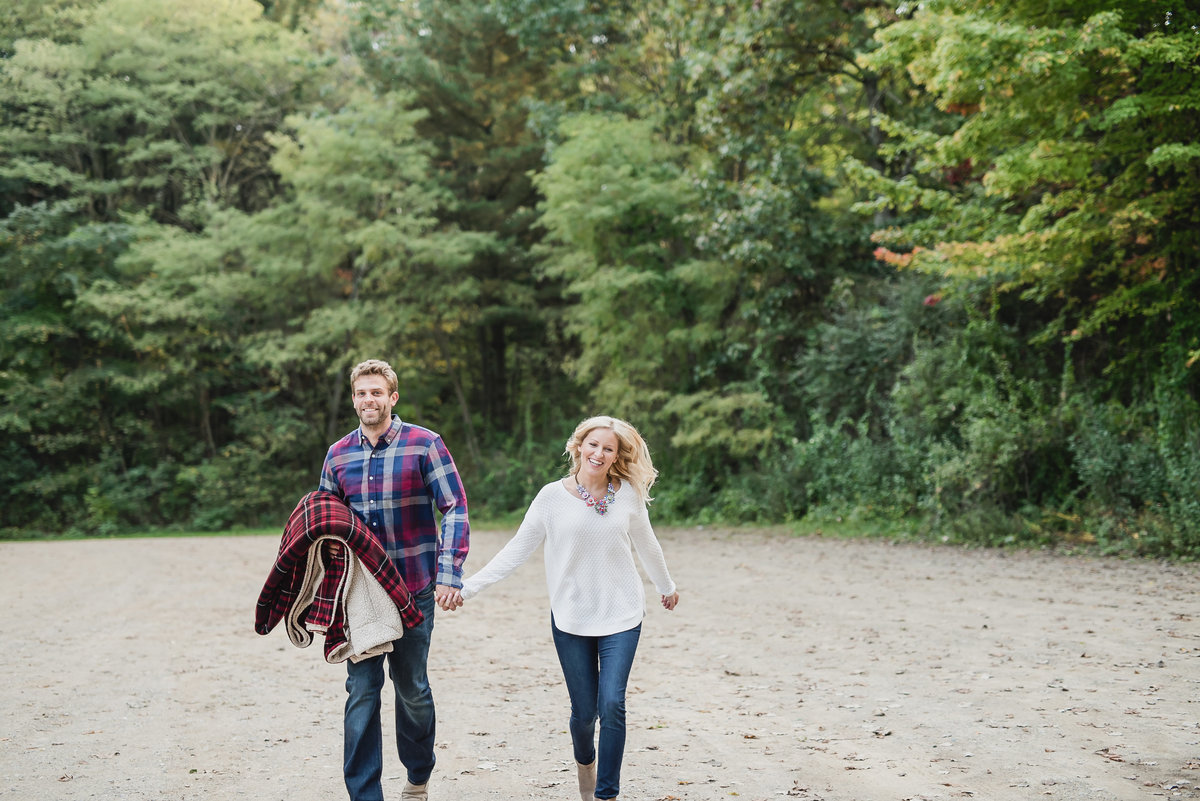 lake engagement session at brighton state recreation area11