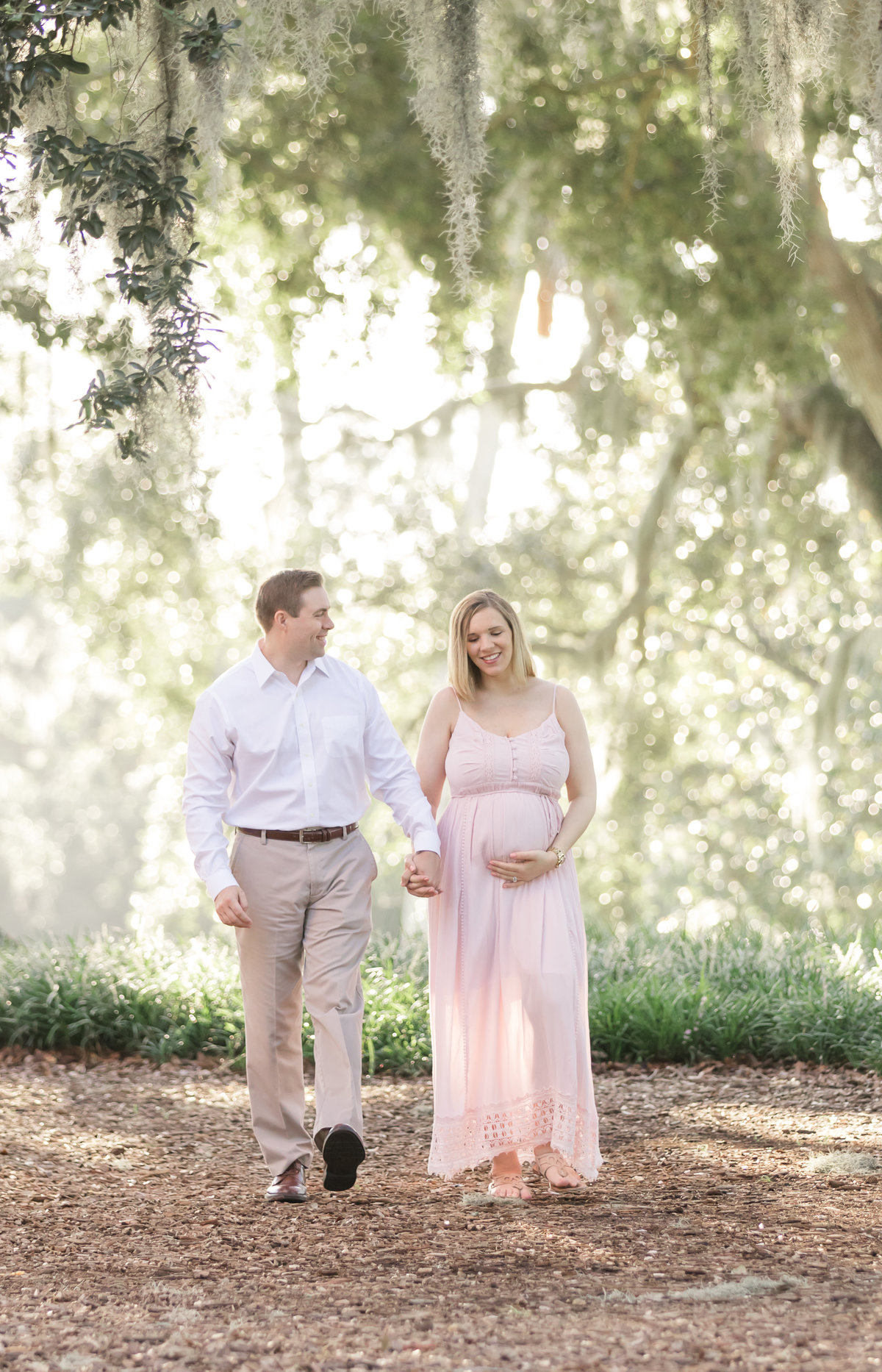 bok tower maternity photo