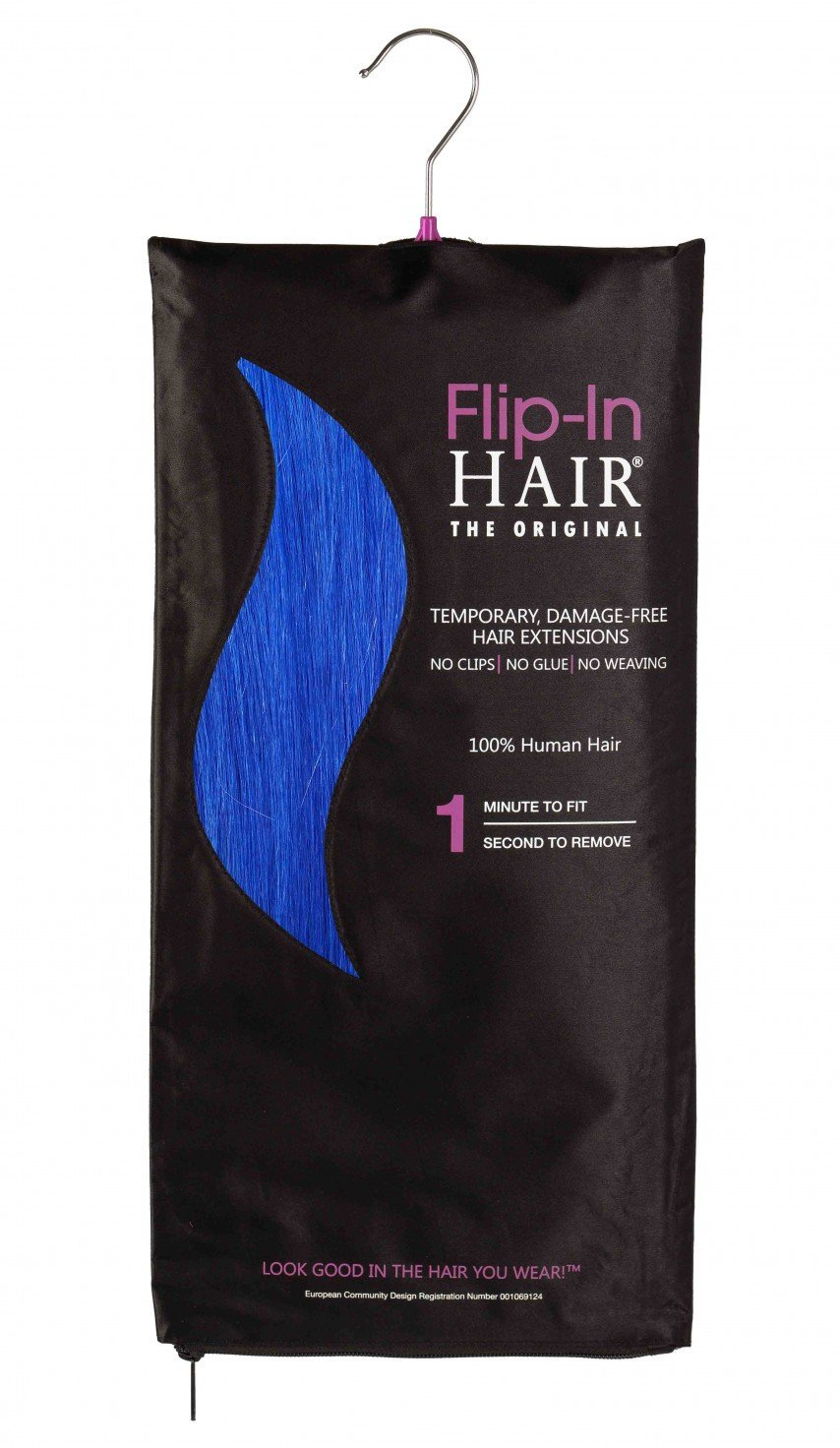 Flip-In Hair Original Royal Blue