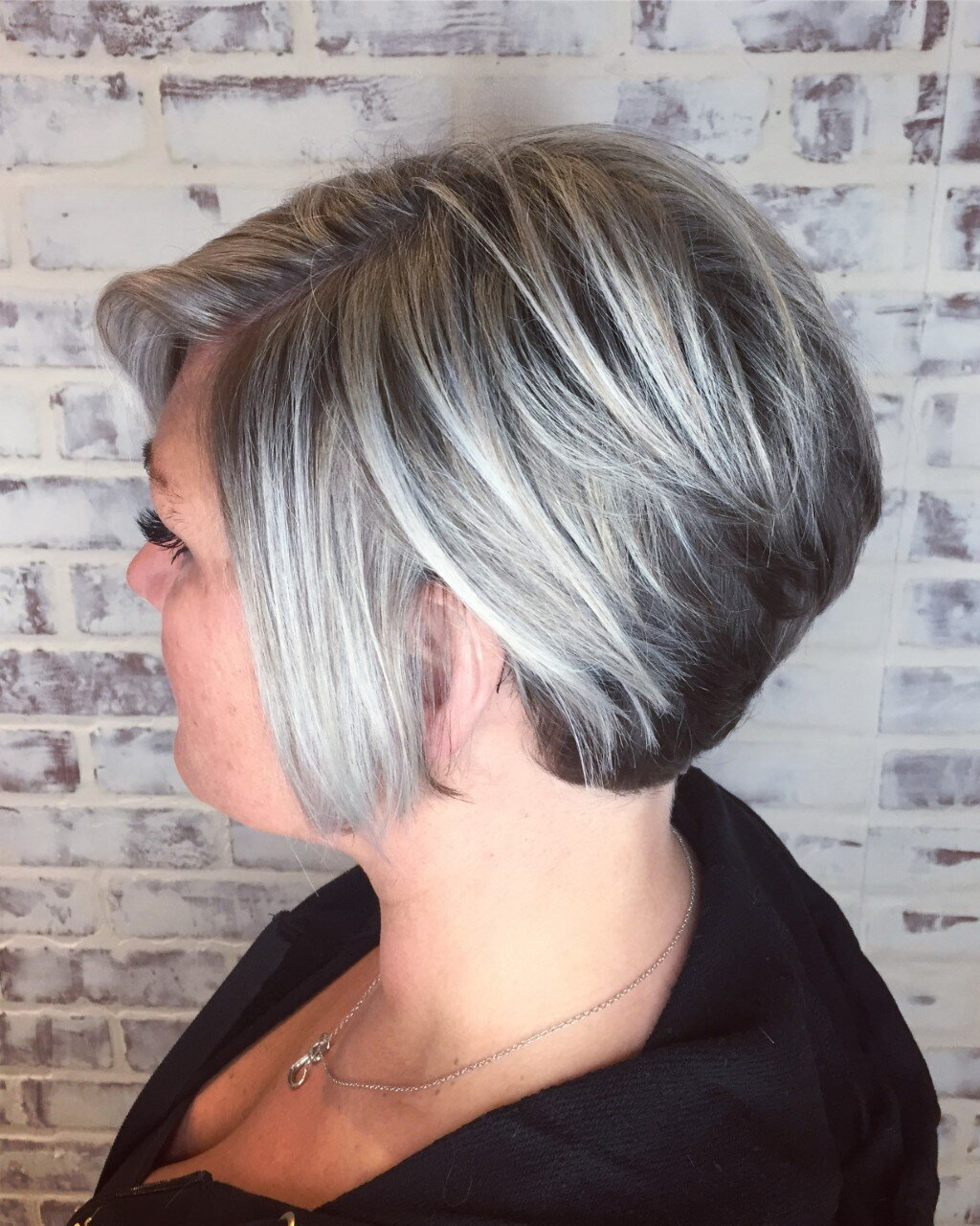 beautiful grey hair colour