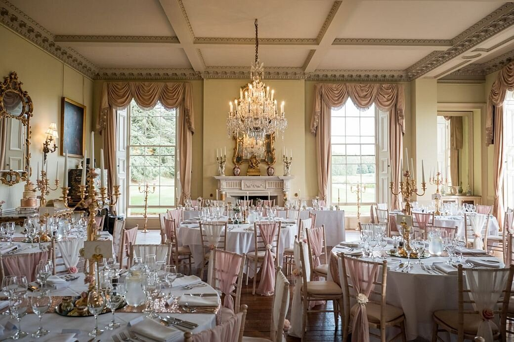 Pink and ivory wedding Prestwold (4)