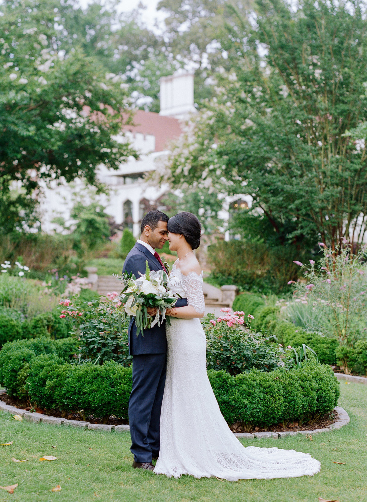 Summer Wedding at Callanwolde Fine Arts Center
