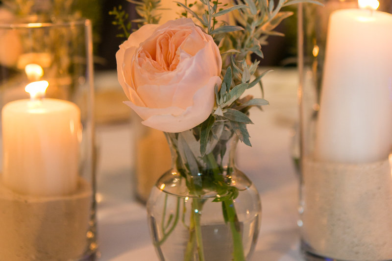 table decorations at a nittany lion  inn wedding by jana scott photography