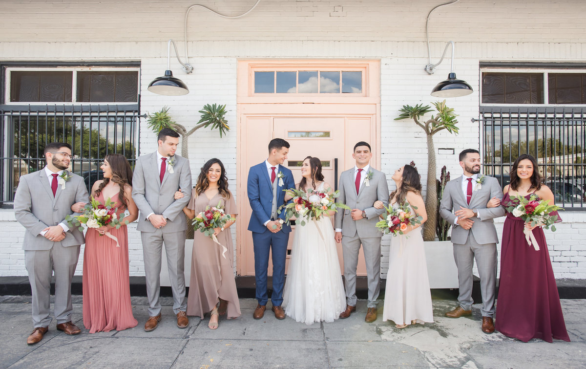 Tampa boho wedding at Fancy Free Nursery 40