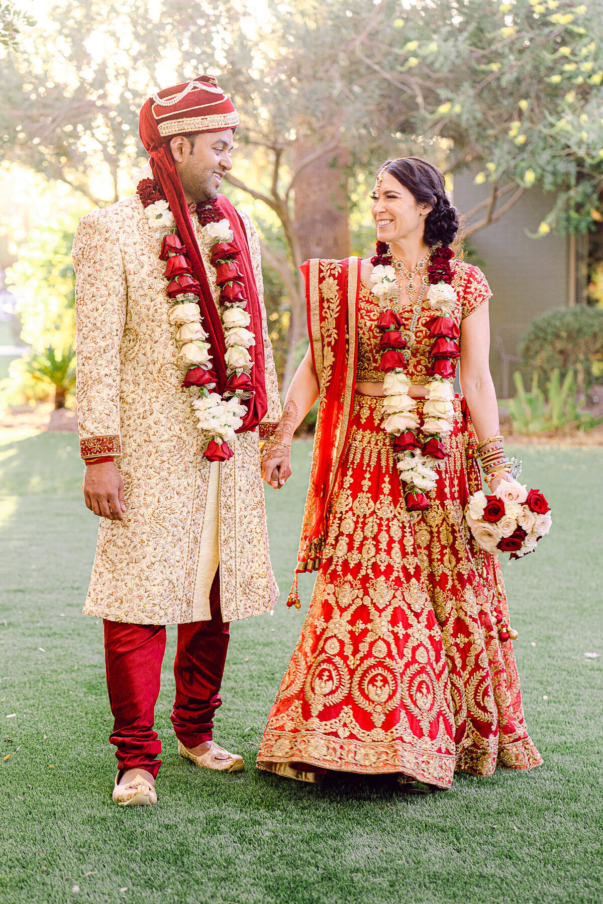 Hindu Wedding In Phoenix Arizona At Hotel Valley Ho - Phoenix Wedding Photographer - Atlas Rose Photography AZ01