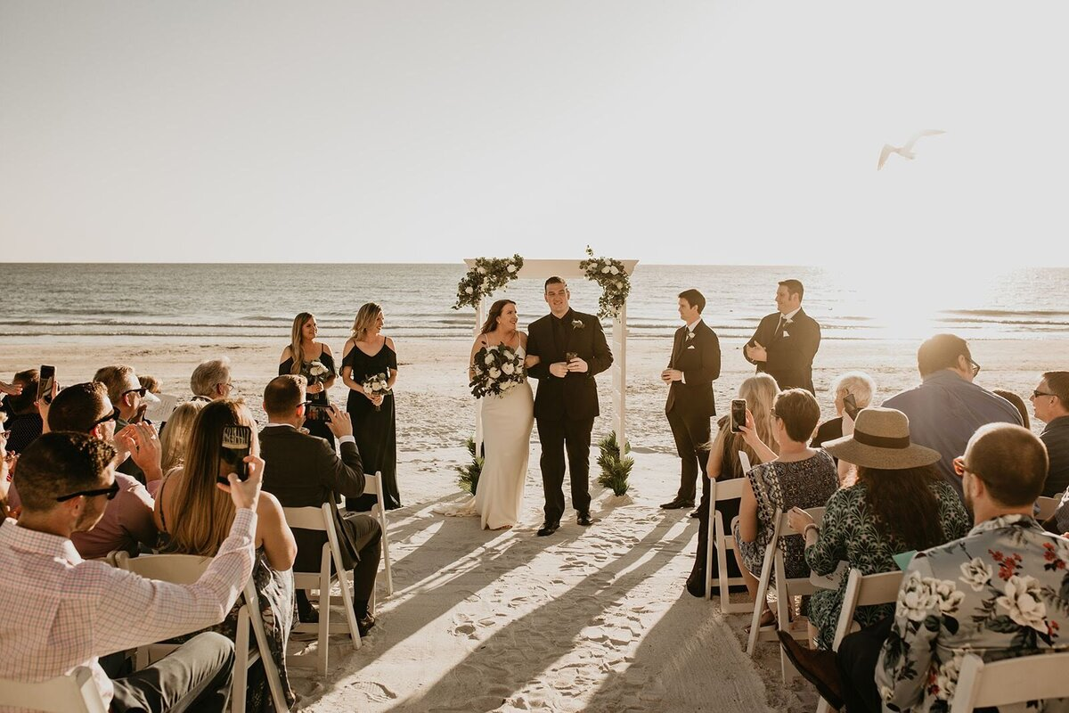DoubleTree North Redington Beach Florida Elopement Wedding