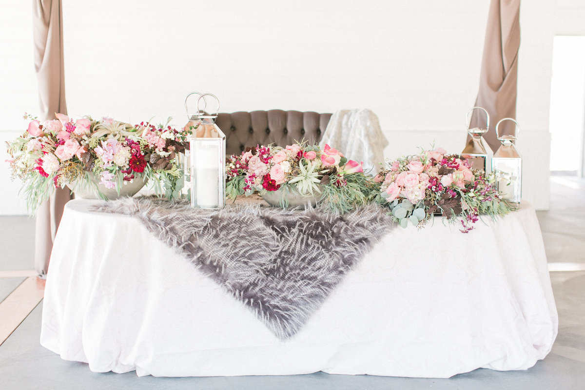 Winter Wedding Mandy Scott Table Design