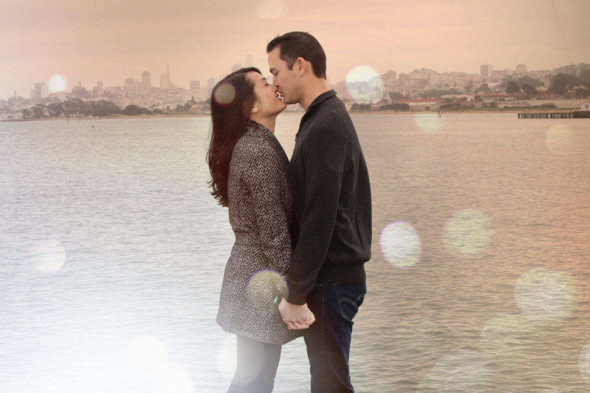 San Fran Bay engagement shoot