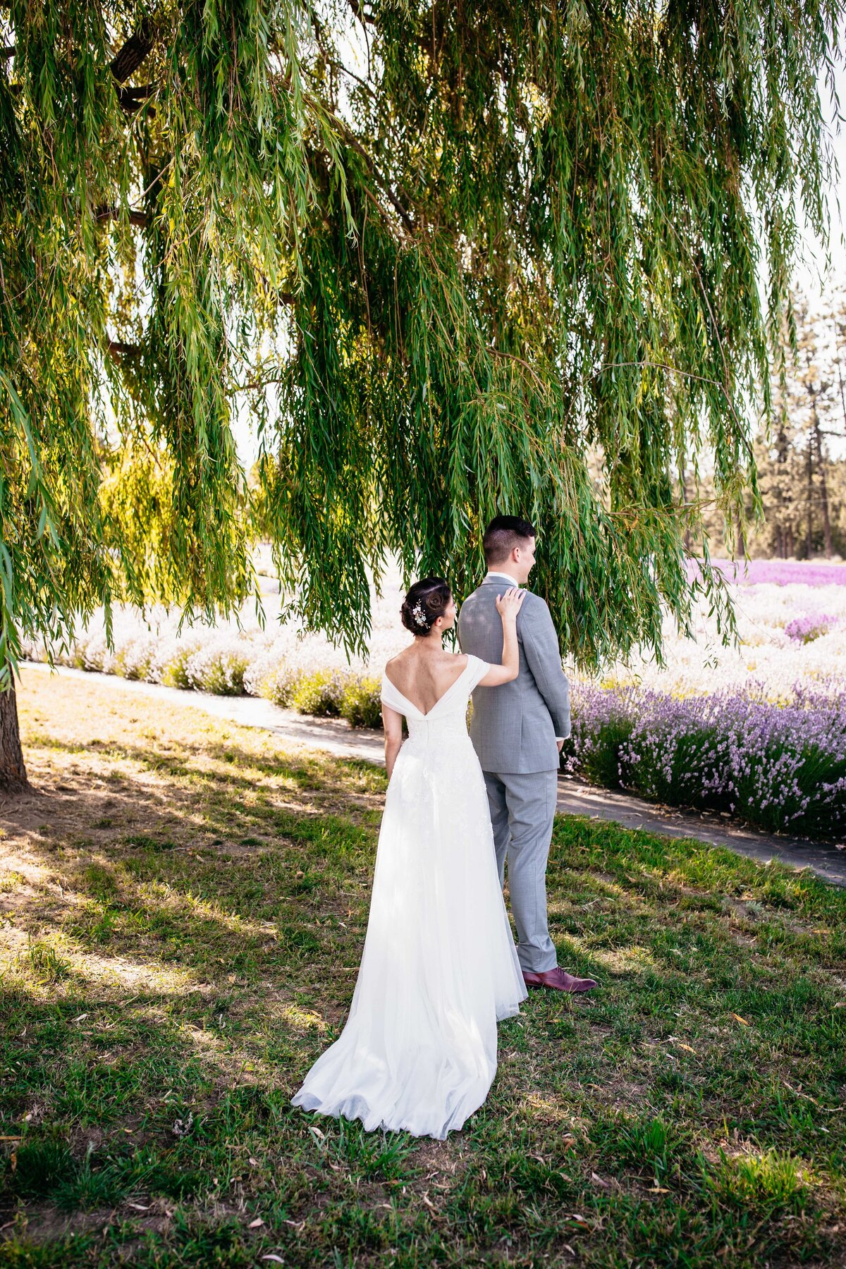 Lavender Manor Spokane Venue - Elegant Timeless Photographer - Clara Jay Photo