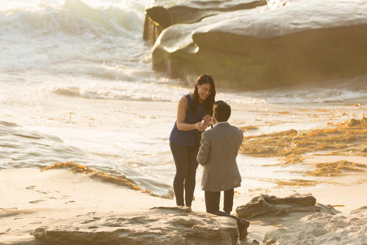 Babsie-Ly-Photography-Surprise-Proposal-Engagement-in-San-Diego-La-Jolla-Sunset-dreamy-beach-water-view-003